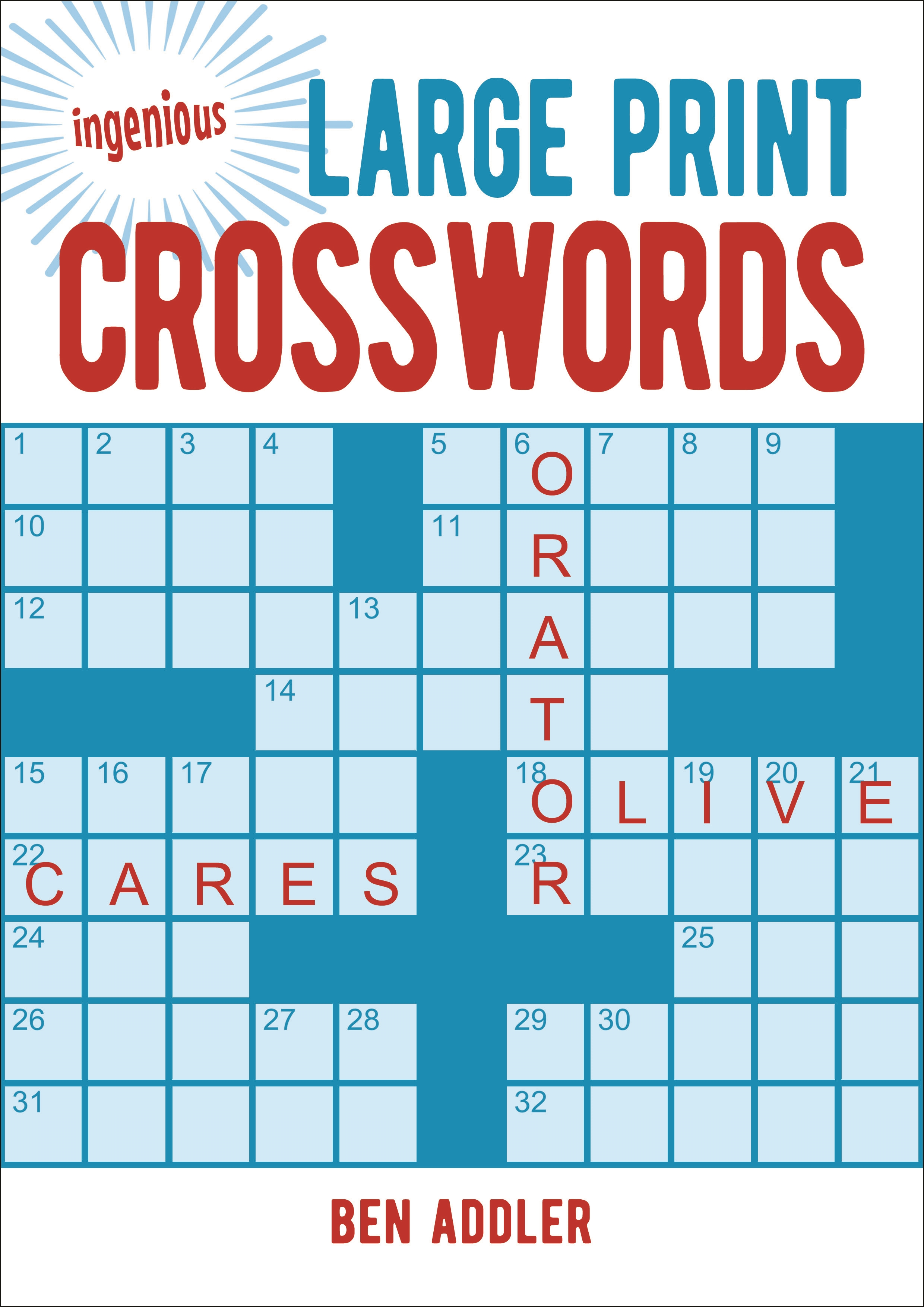 - Large Print Crosswords